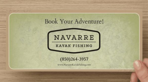 Navarre Kayak Fishing Gift Certificates