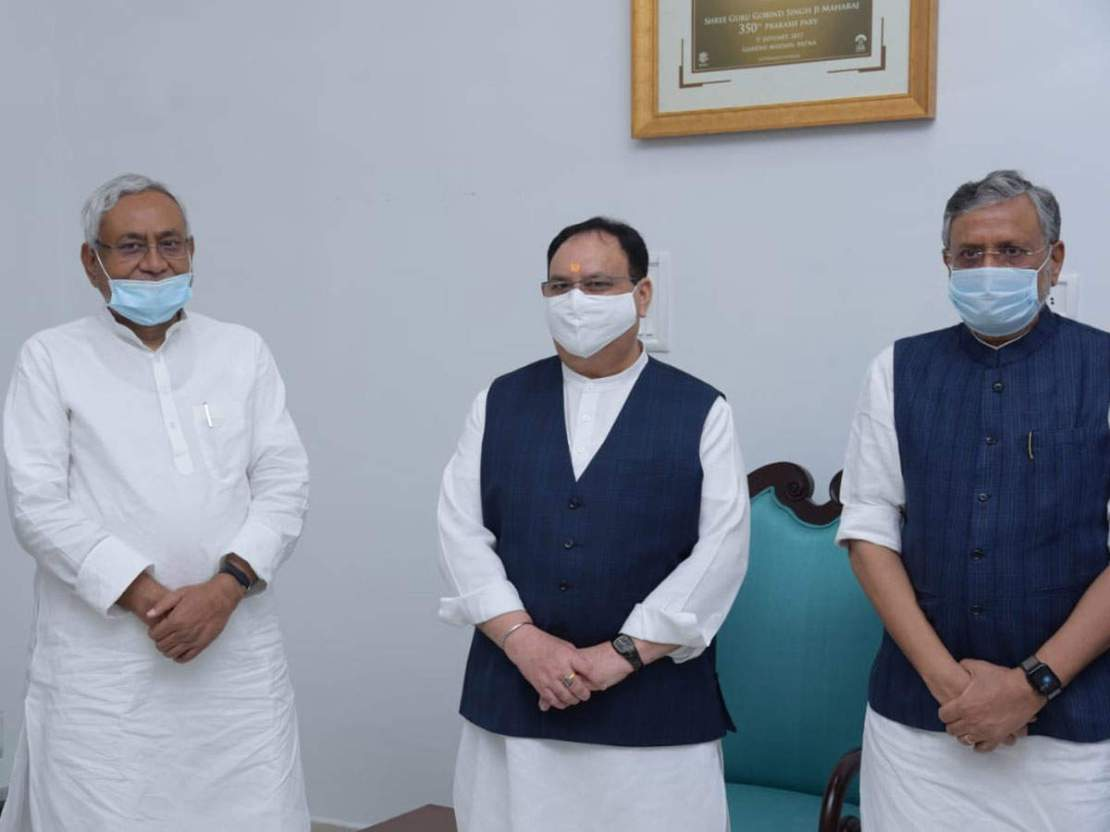 Bihar Politics: जेडीयू ने दिखाए तेवर तो डैमेज कंट्रोल में उतरी बीजेपी, नीतीश के इस 'दोस्त' ने संभाला मोर्चा
