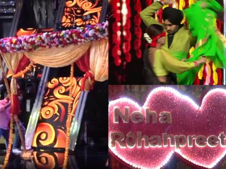 Indian Idol 2020 में सजा नेहा कक्कड़ की शादी का मंडप! रोहनप्रीत बोले- नेहू जिसे छू दे सोना बन जाए