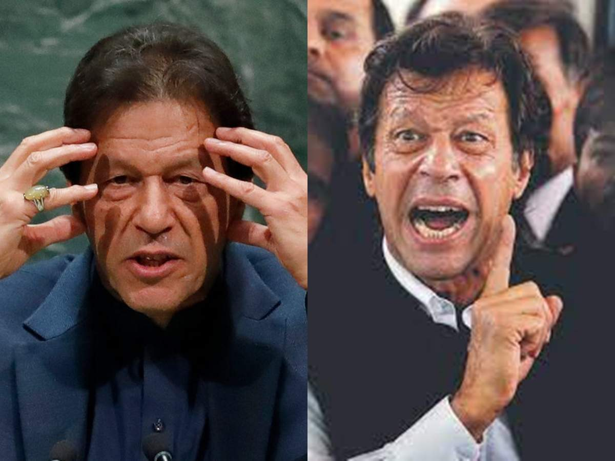 pakistani pm imran khan funny video: Pakistan's Prime Minister Imran Khan's video went viral, user said – he is Pakistan's Pappu!  – Pakistan's Prime Minister Imran Khan's video went viral, with a user saying he is Pakistan's Pappu