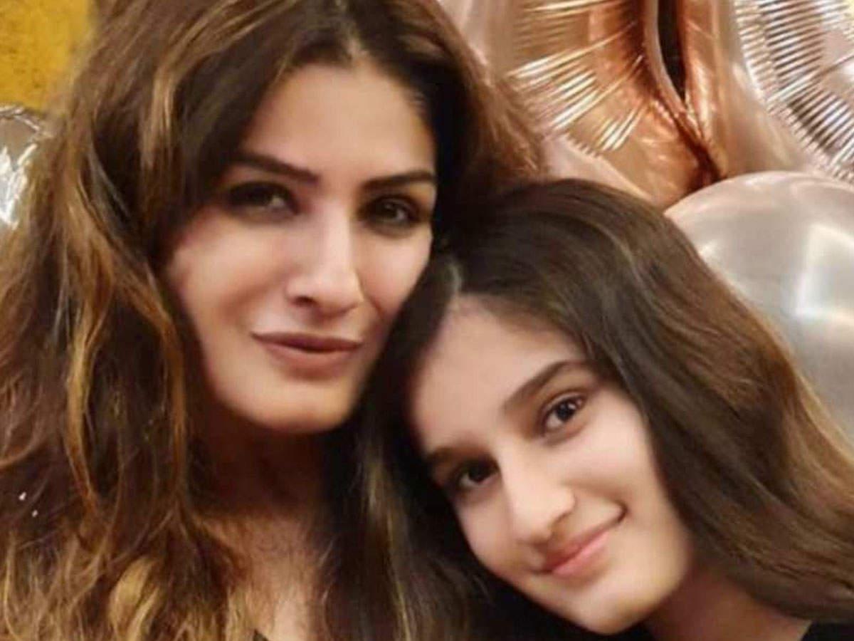 Raveena Tandon Rasha Thadani Bollywood: Raveena Tandon shared her daughter Rasha's report card, said – My Baby Girl 'A' Star – Raveena Tandon's daughter Rasha Report Card on Instagram
