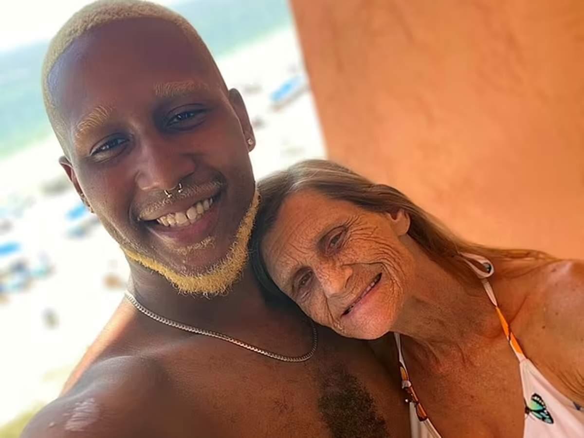 Elderly love couple: Grandmother joins 24-year-old boyfriend in Rome Georgia: 61-year-old grandmother marries 37-year-old boyfriend
