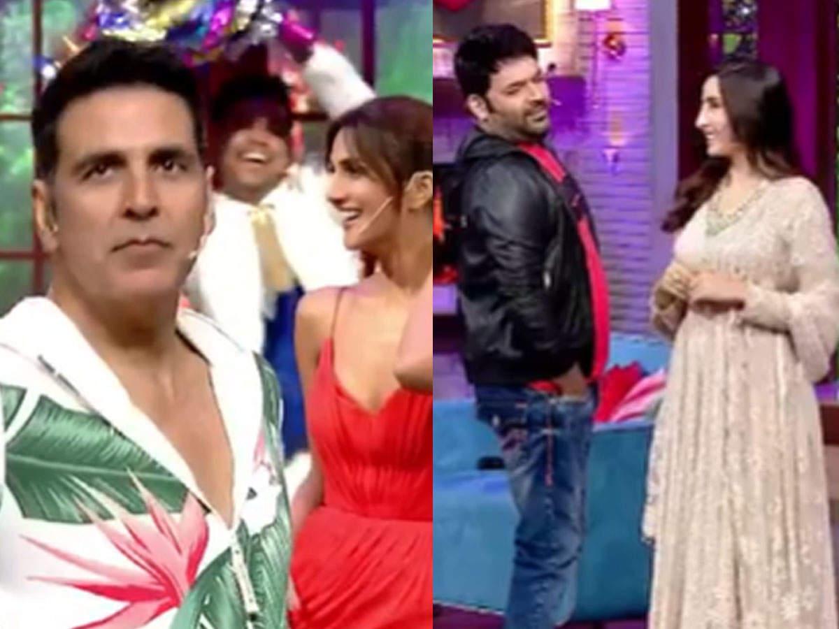 Akshay Kumar shuts down Kapil Sharma in his show: Kapil Sharma Show First Episode Promo Akshay Kumar Ajay Devgn Grill Watch Kapil Sharma Video