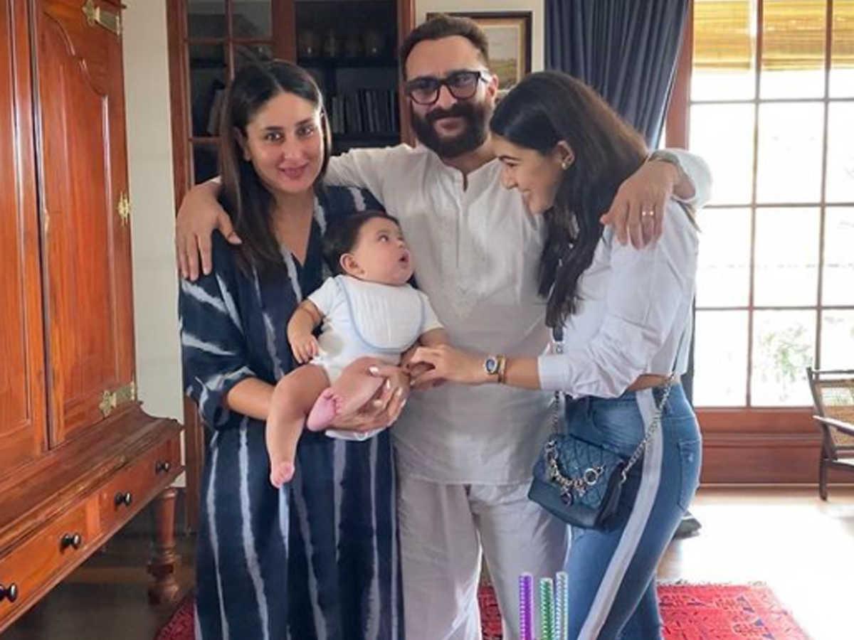 Happy Birthday to Saraf Ali Khan: Happy Birthday to Sara Ali Khan Saif Ali Khan