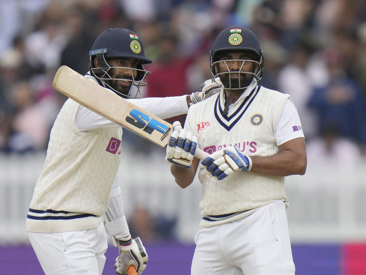 Mohammad Shami Jaspreet Bumrah Best Score: India – England Lord's Test: Shami and Bumrah's superb batting, don't be surprised .. These shots will win your heart