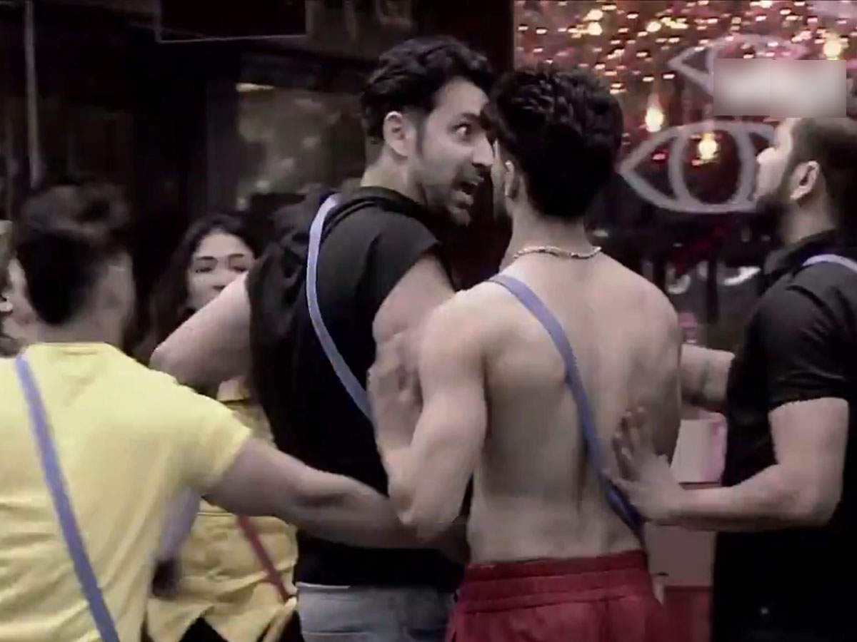 Prateek Sahajpal Rakesh Bapat Ugly Battle: BBOTT: Rakesh- Prateek's fight creates chaos in the house, members of the house are divided into two parts and there is a lot of confusion – Bigg Boss OT Rakesh Bapat Prateek Sahajpal Ugali