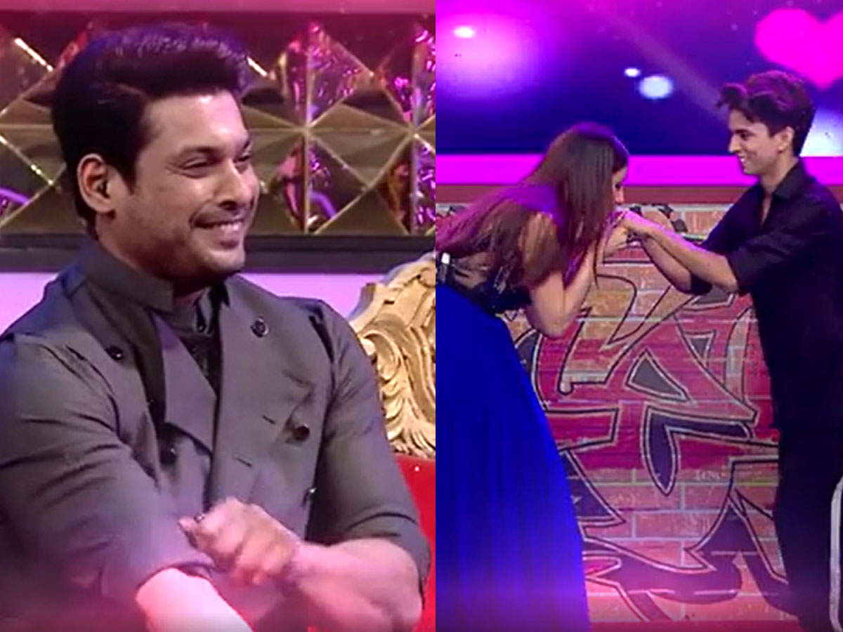 Siddharth Shahnaz Romance in Dance Maniac 3: Dance Maniac 3 Shahnaz Kiss Contestant Siddharth Shukla is jealous Promo- Video: Shehnaz Gill fell down from her seat due to fear