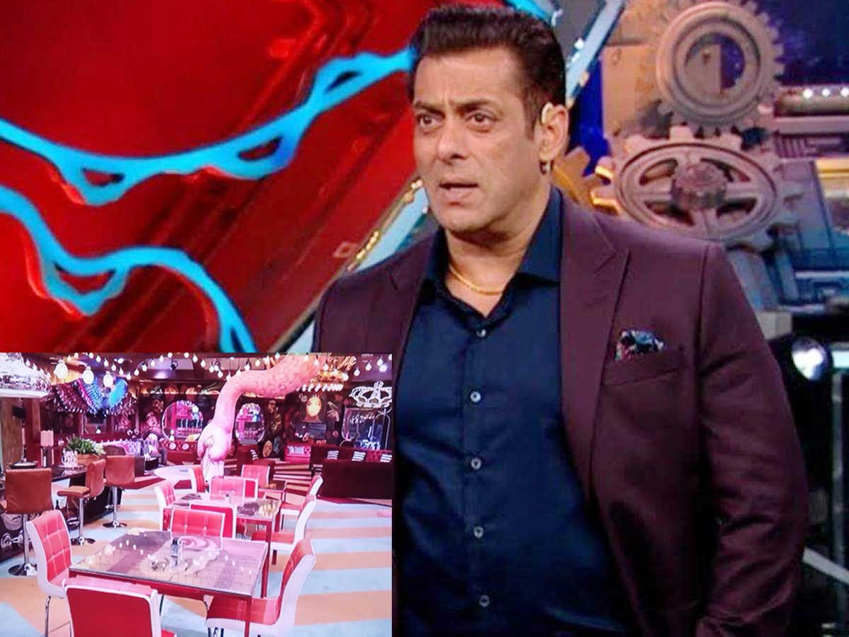 Photos of Bigg Boss 15 Living Room hosted by Salman Khan went viral on social media