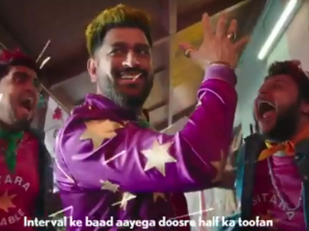 MS Dhoni's new avatar: See the attractive avatar of MS Dhoni in the new IPL 14 theme song advertisement: Before IPL, fans did not like the new avatar of MS Dhoni, said- Stay away from Ranveer Singh, Mahi Bhai …