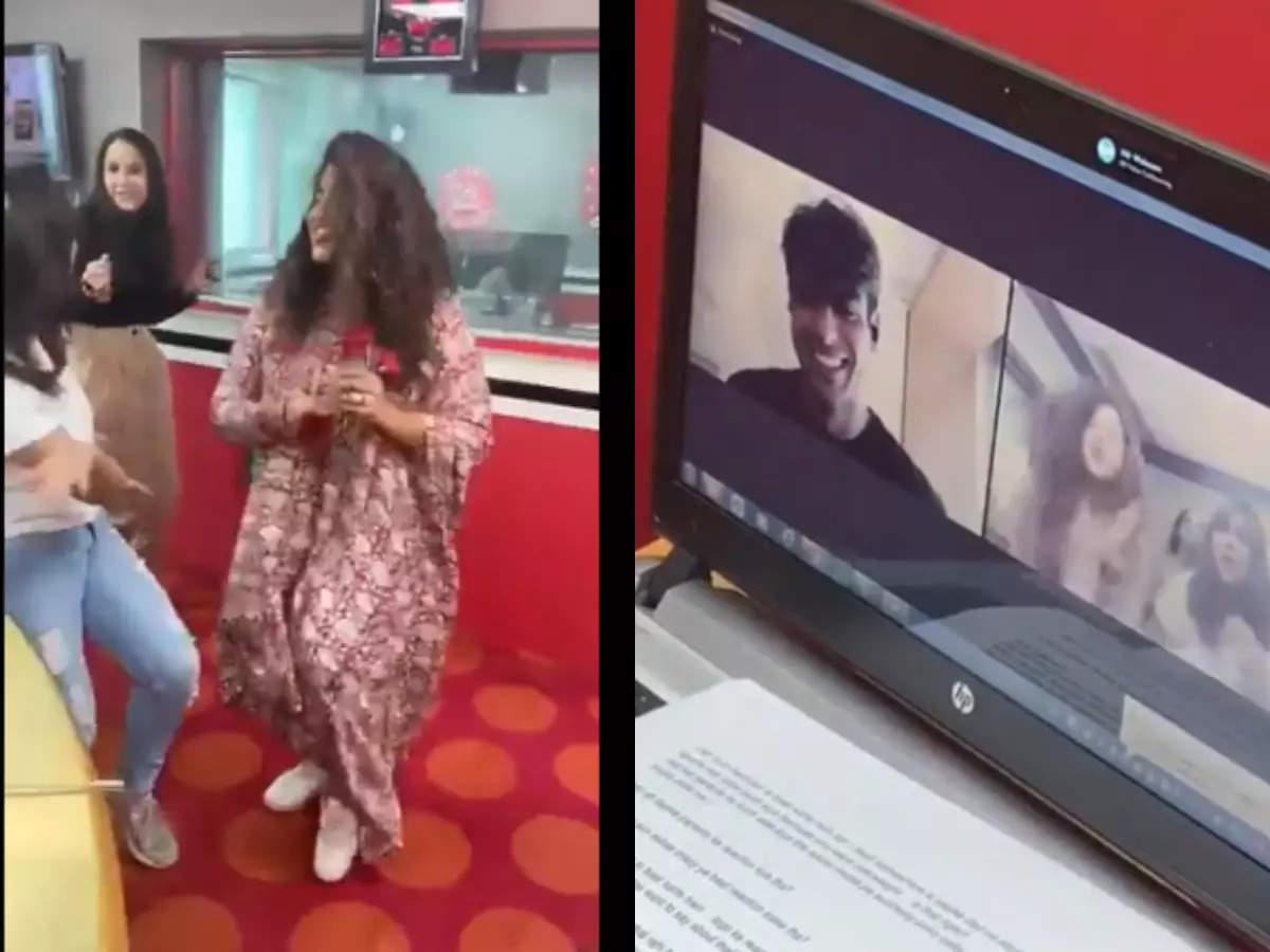 RJ Malishka's dance: Watch RJ Malishka's dance video for Neeraj Chopra at Red FM Mumbai office, Twitter hit her: