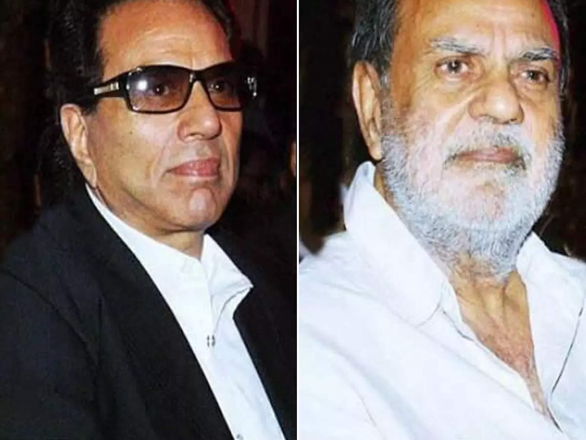 Dharmendra Ajit Deol Bollywood News: Video: Watch this unseen scene when Dharmendra squeezed his younger brother Ajit Deol's hand – Dharmendra shared a scene with his younger brother late Ajit Deol