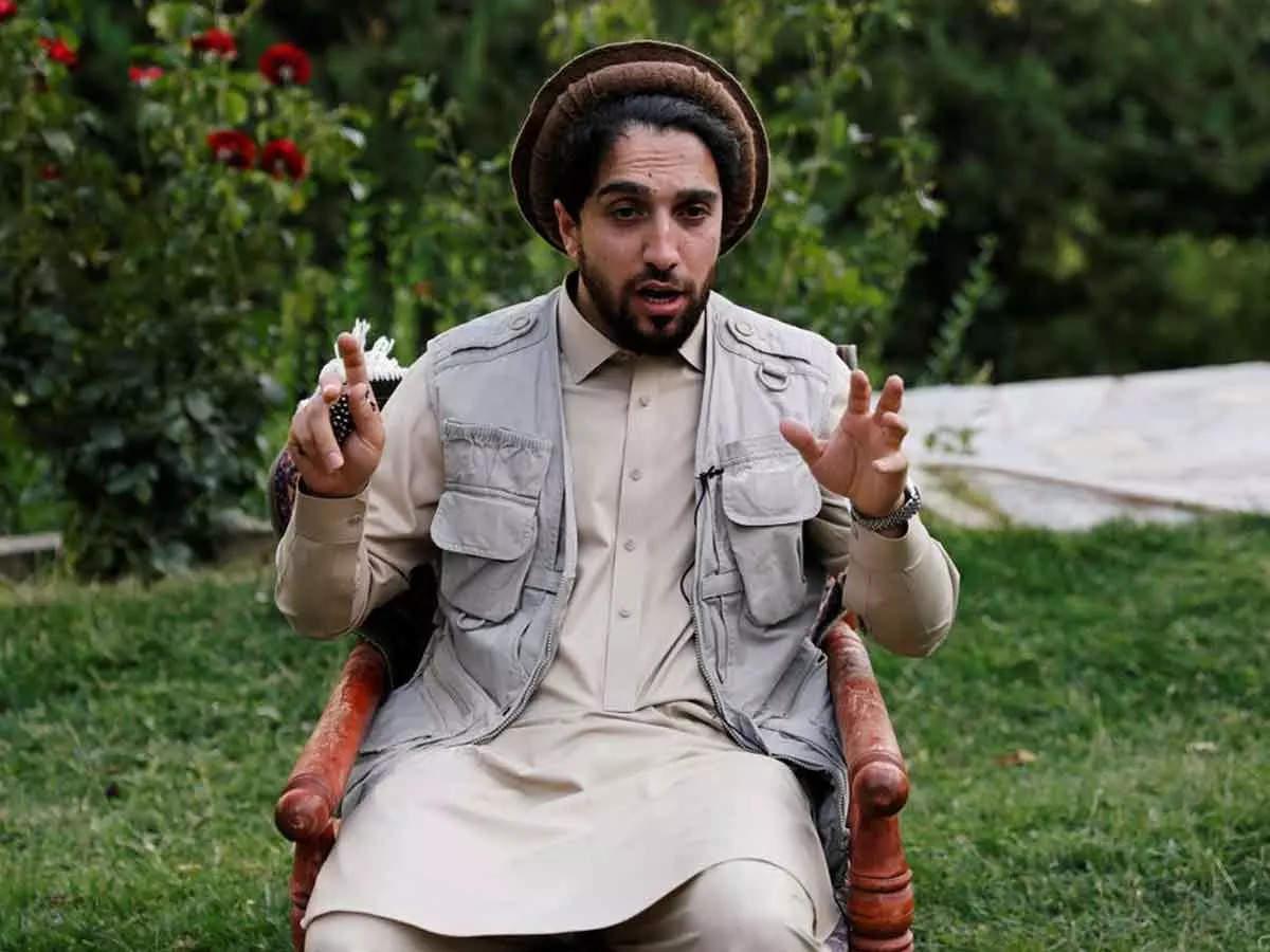 Ahmed Masood warns Taliban: Ahmed Masood warns Taliban that if Taliban rejects Panjshir war, it will be inevitable