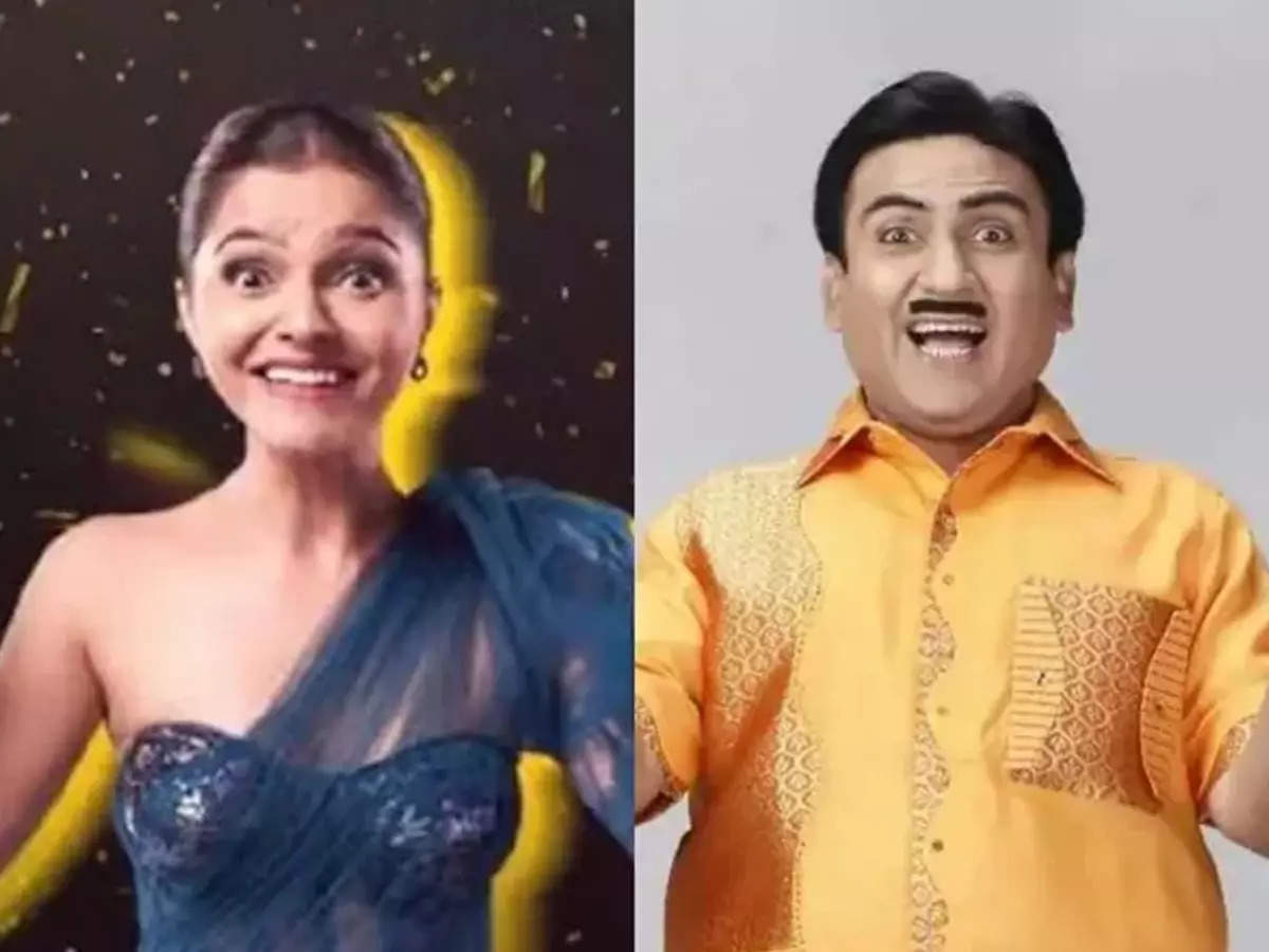 Rubina Dilip and Jethalal Funny Similarities: Funny Expressions Similarities between Rubina Dilip and Dilip Joshi