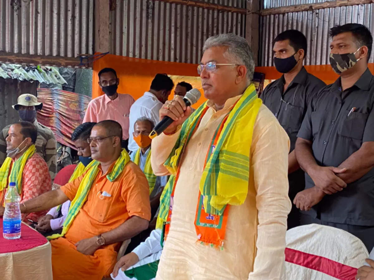 Dilip Ghosh: Dilip Ghosh besieged 'home' on independent state advocate, now you turn – 'not on the side of Bengal partition' – Dilip Ghosh you turn over Bengal State Division statement
