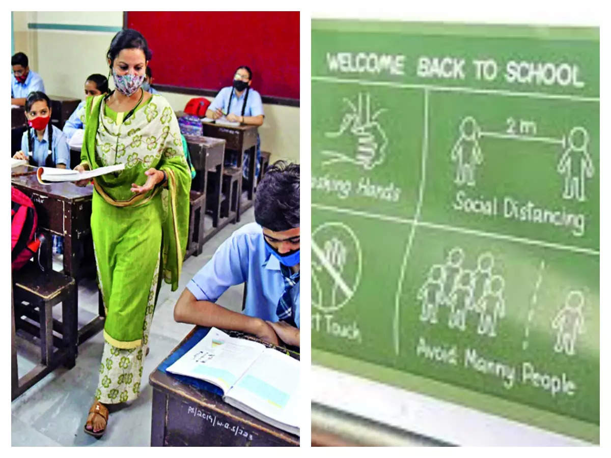 Delhi schools reopen: Delhi schools to reopen in phases from September 1, 9th to 12th Delhi schools, colleges and coaching from September 1, Delhi schools, colleges to reopen in phases: Delhi to reopen schools.  .. Would you send your child?  The parents answered this
