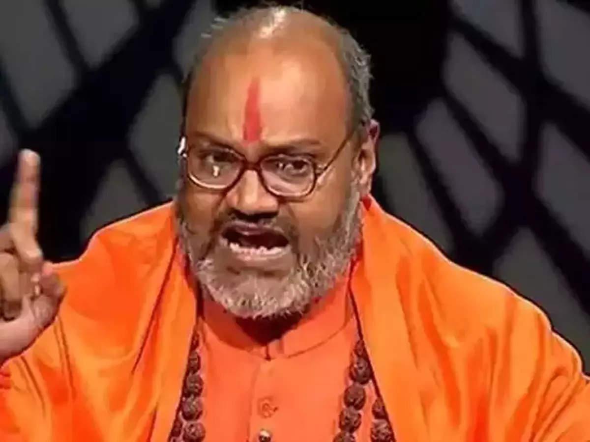 Narasimhanand Saraswati viral video on BJP women leaders