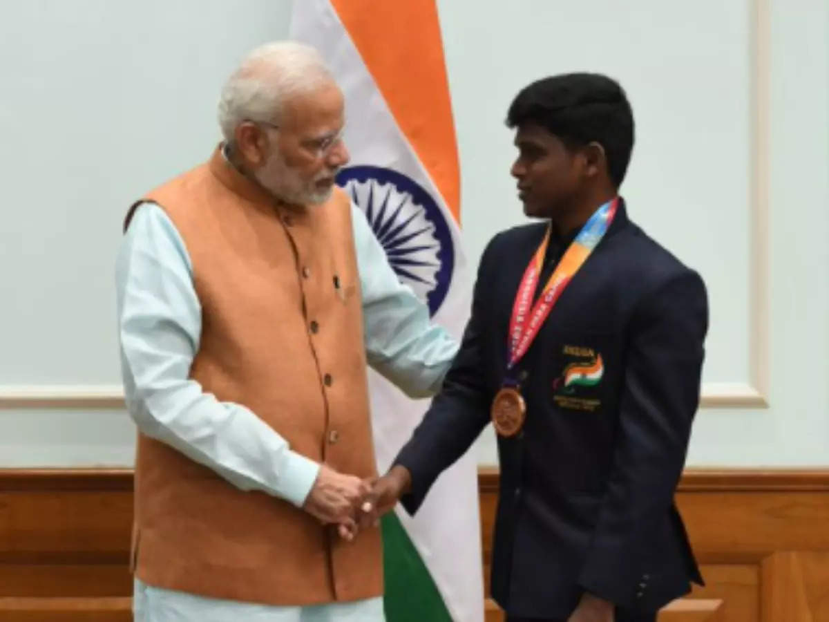 PM Modi Paralette Thalit: This is a good sign from different parts of our Olympic, Olympic medal winning country