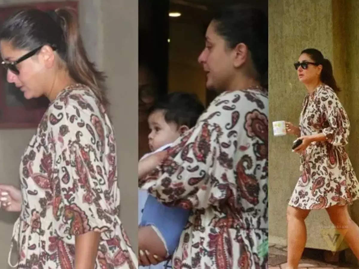 Kareena Kapoor Khan became a troll while going out with Baby Jeh