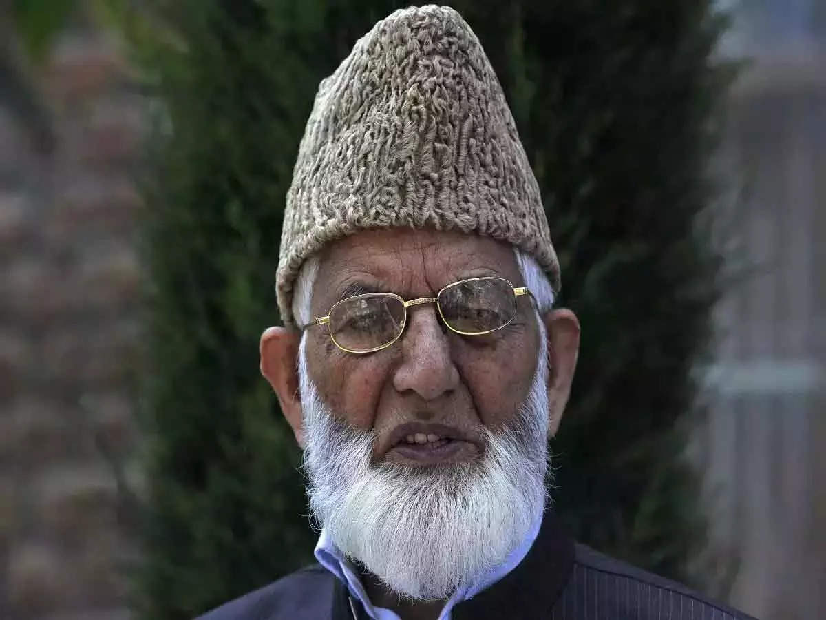 Pakistan on Syed Ali Gilani's funeral: Imran Khan's government angry at India after Syed Ali Gilani's funeral last night