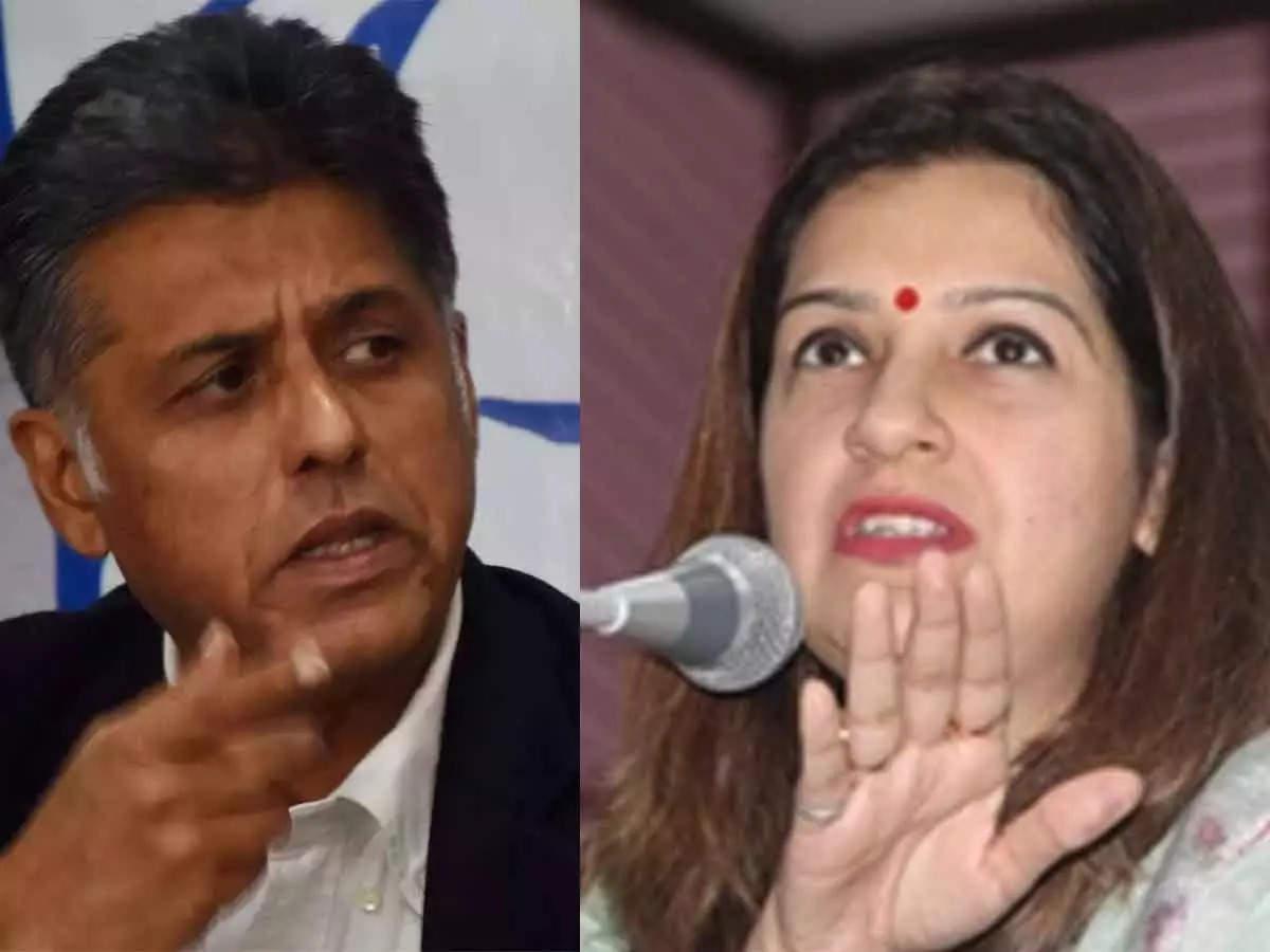 Manish Tiwari vs Priyanka Chaturvedi on Twitter: Manish Tiwari and Priyanka Chaturvedi argue on Twitter over Tarun Tejpal case