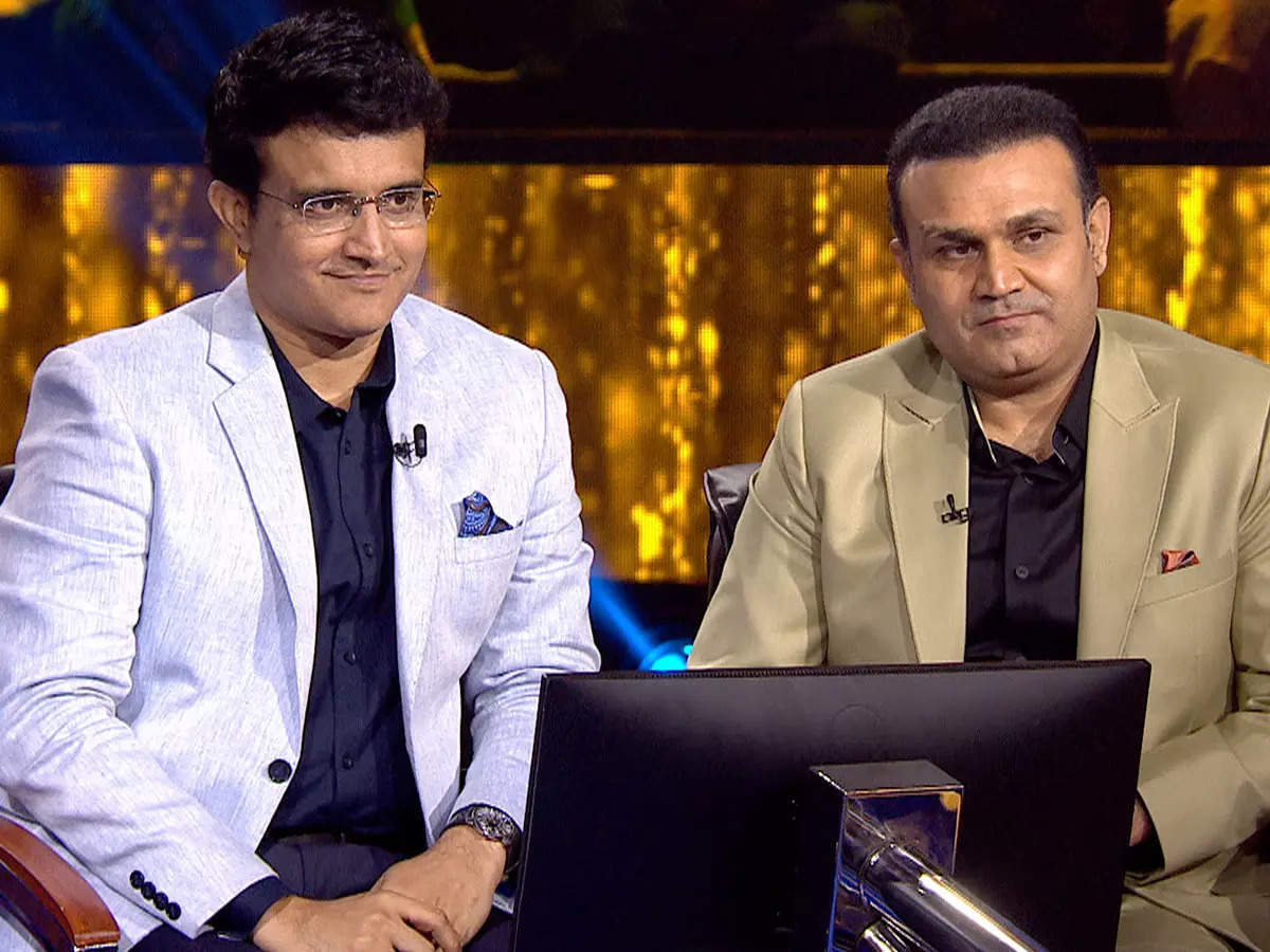 Virender Sehwag Sourav Ganguly KBC 13 Questions: Who will become a millionaire 13 Virender Sehwag and Sourav Ganguly could not answer questions related to MS Dhoni – KBC 13