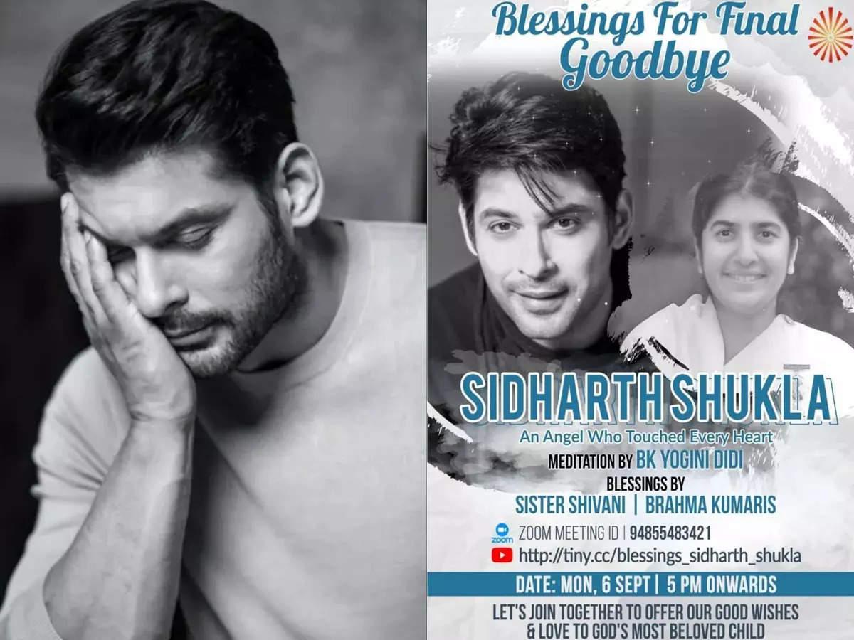 Siddharth Shukla Prayer Meeting Online: Monday 6th September at 5pm Karanveer Bohra Share Details and Link to Join Siddharth Shukla Online Prayer Meeting