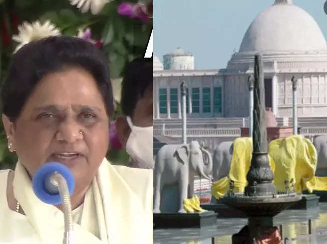 Mayawati UP Election 2022 News: Mayawati says she will focus on development and will not build monuments and parks