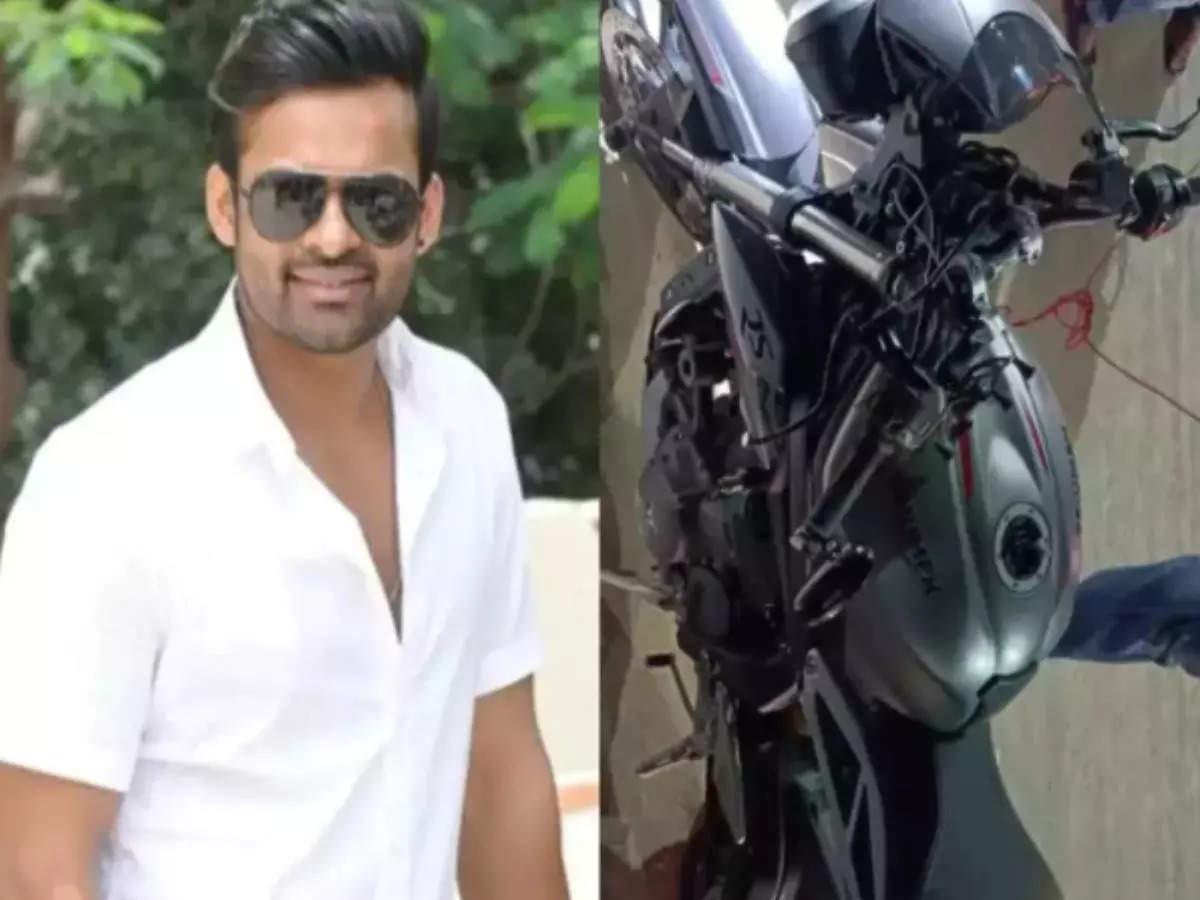 Sai Dharma Tej: Telugu film actor Sai Dharam Tej injured in a road accident Telugu actor Sai Dharma Tej seriously injured in a road accident, health is now out of danger