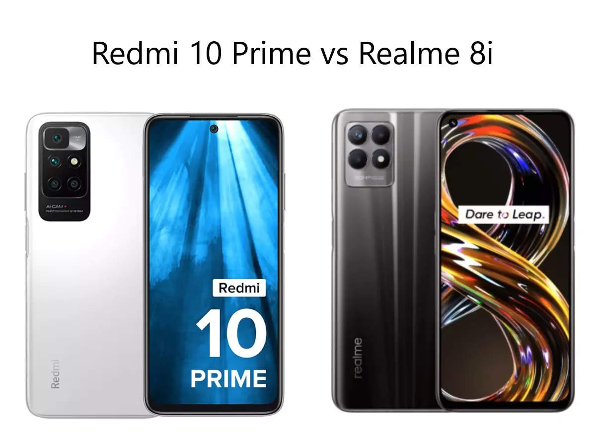 Redmi 10 Prime vs Realme 8i: Redmi 10 Prime vs Realme 8i: Find out which is the best smartphone under 15 thousand with 50MP camera, know everything from features to price – redmi 10 Prime vs realme 8i Find out which smartphone is priced below 15000 and read the comparison of features to price