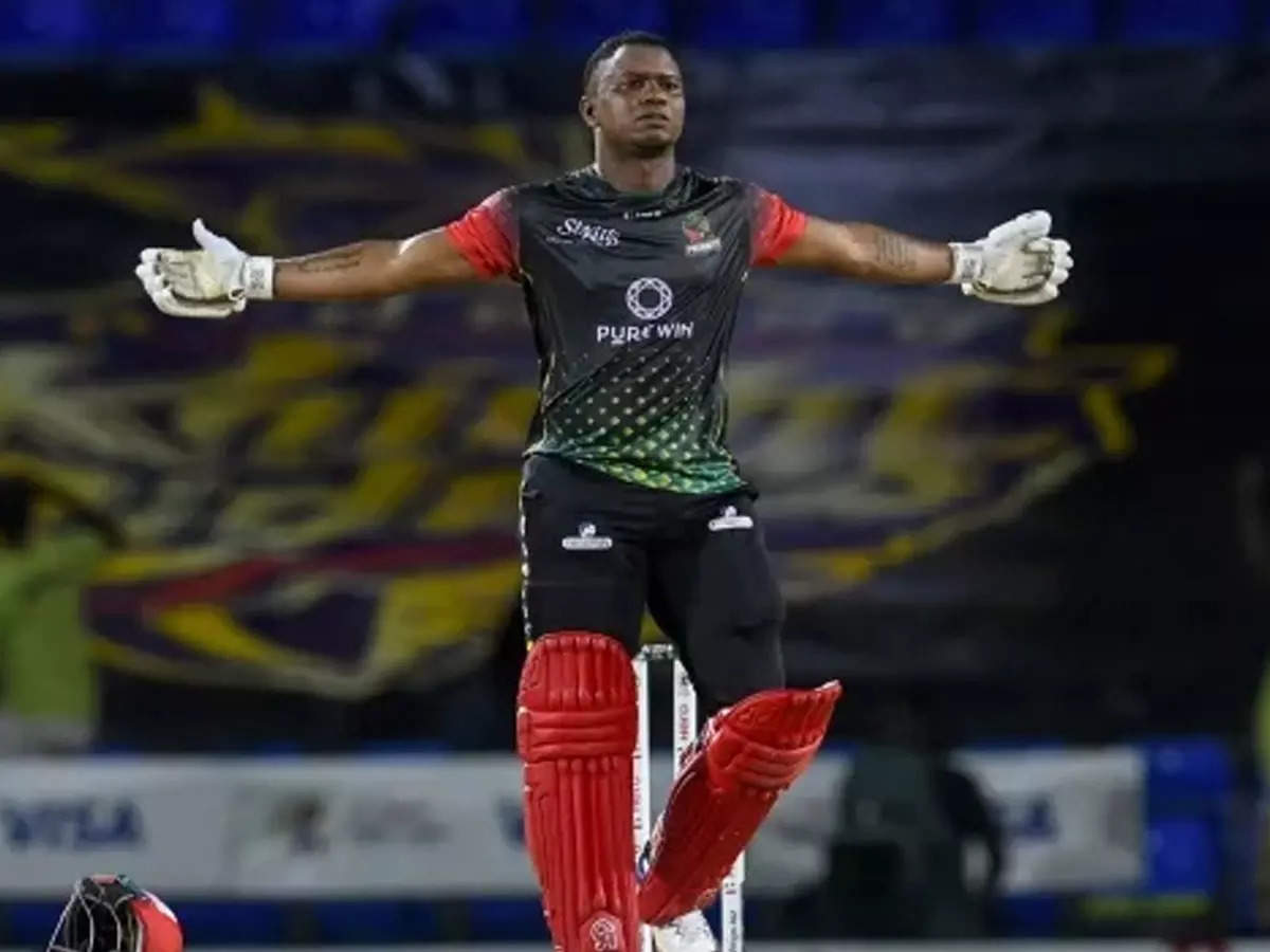 Evin Lewis storming century video: Evin Lewis scores stormy century in CPL;  St. Kitts and Nevis Patriots reach the semifinals in CPL 2021;  Just before the IPL, Rajasthan Royals' Evin Lewis scored a thunderous century to take the Nevis Patriots to the semi-finals of the CPL.