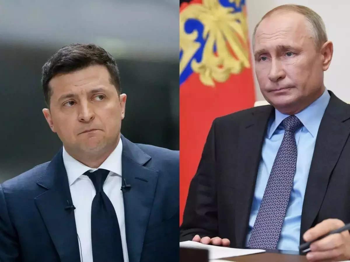 Ukrainian President Volodymyr Zelensky says war between Russia and Ukraine is possible