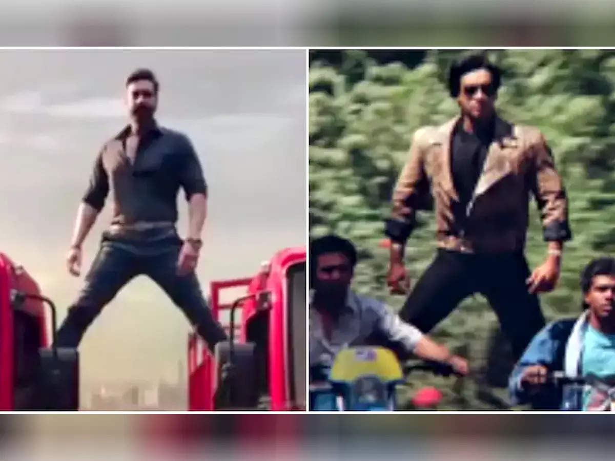 Ajay Devgn recreates a 30 year old flower and thorn stunt