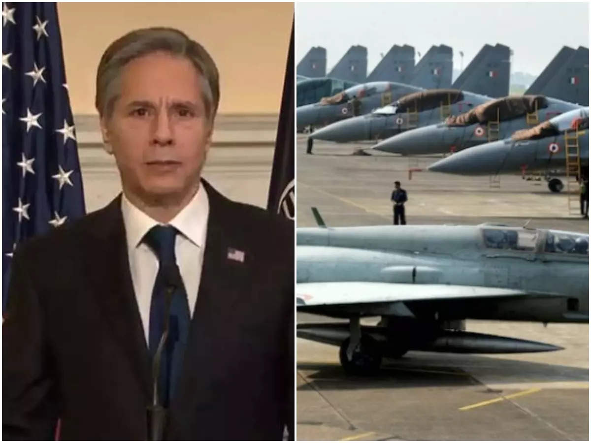Does the US want to set up a military base in India?  Directed by Blinken