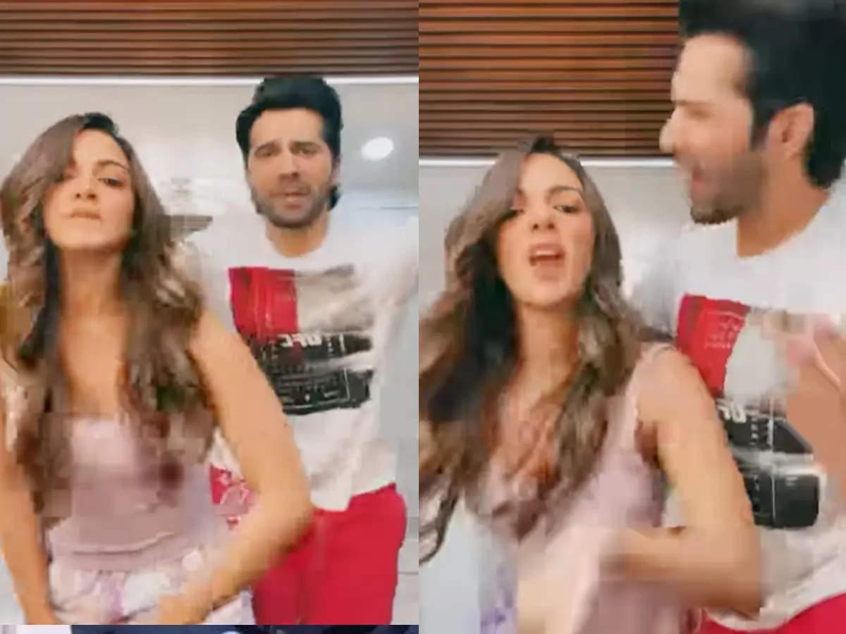 Kiara Advani dances on Varun Dhawan lover song: Kiara Advani Varun Dhawan Roffle dance Diljit Dosanjh goes viral on lover song, Ranveer Singh reacted like this