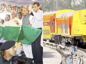 दिल्ली से लखनऊ के लिए डबल डेकर ट्रेन सेवा शुरू