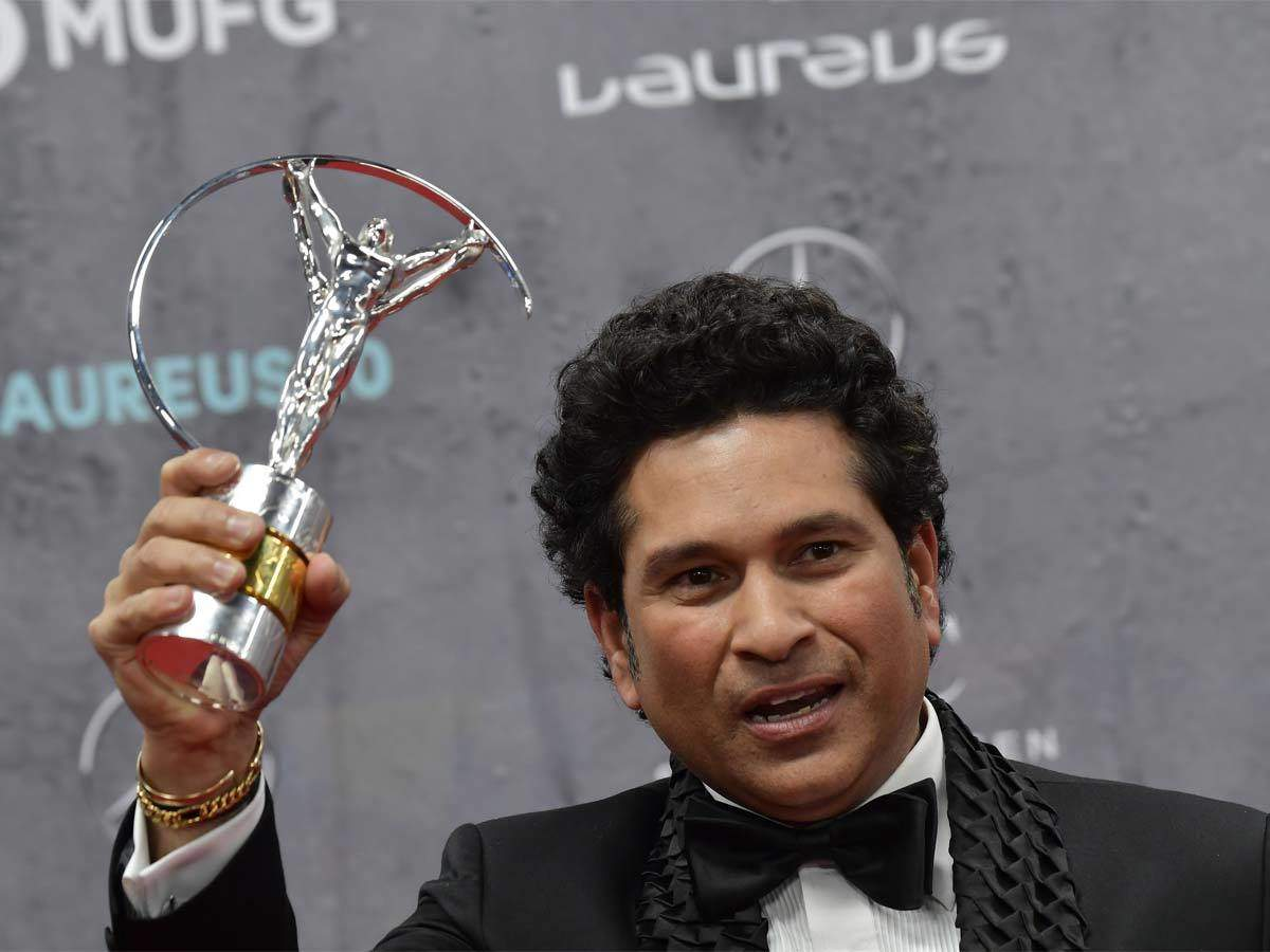 Sachin Tendulkar Laureus sporting award: Sachin carried by nation after world cup victory voted greatest sporting moment in 20 years in Laureus sporting moment