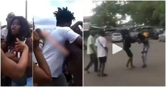 Pregnant student drags boyfriend publicly for not talking responsibility for her pregnancy