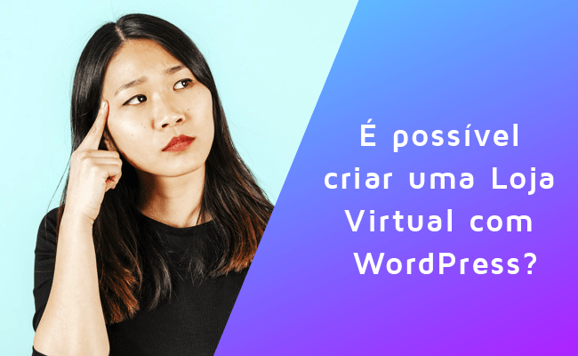 Loja Virtual com WordPress