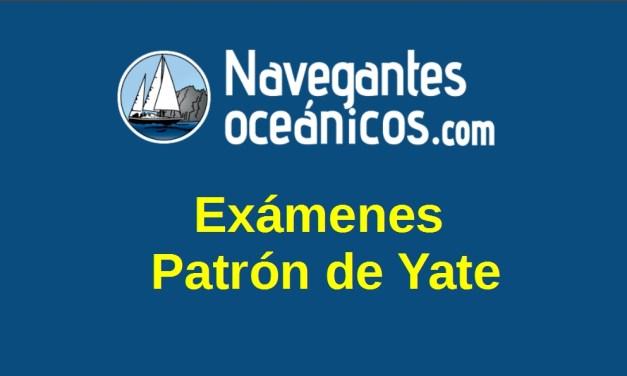 Exámenes Patrón de Yate