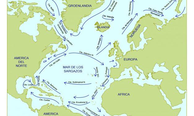 Las corrientes del Atlántico Norte