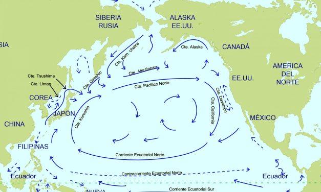 Las corrientes del Pacífico Norte