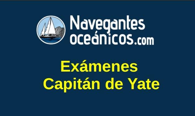 Exámenes Capitán de Yate