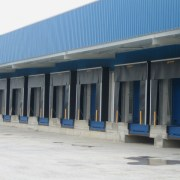 Muelle de carga industria alimentaria