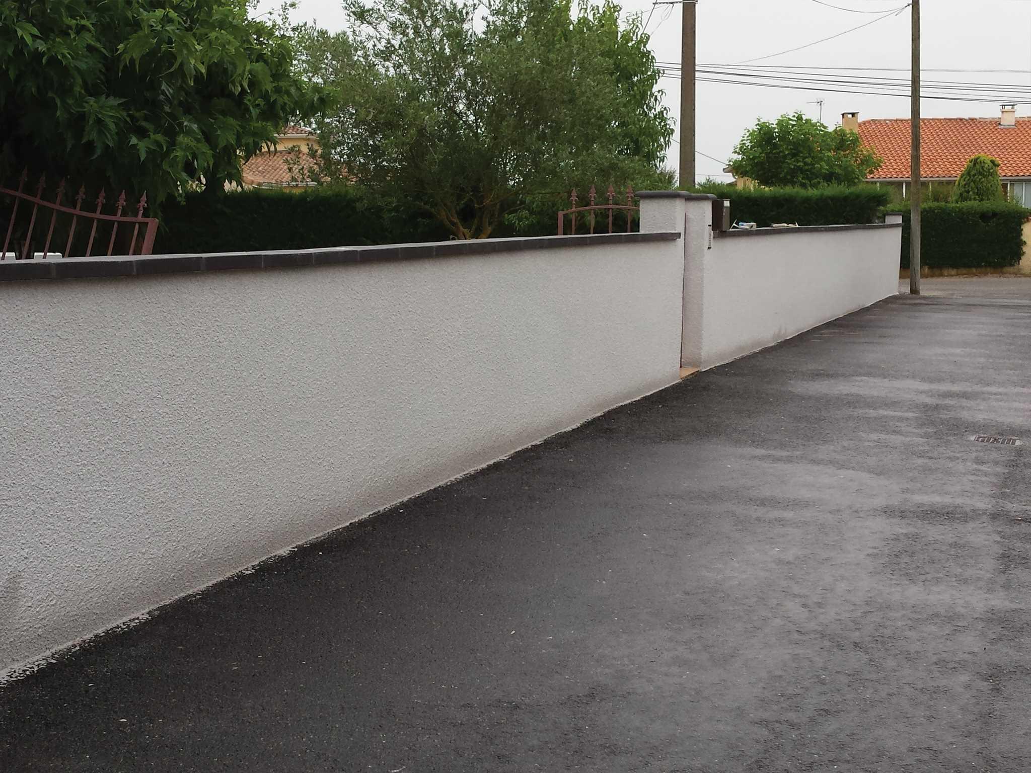 rénovation-ravalement de façade - murs de clôture 31