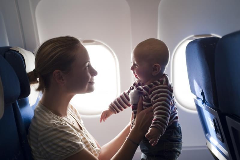 Viaggia con neonati