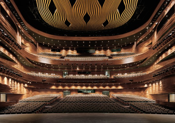 Wuxi Grand Theatre Finnish Architecture Navigator