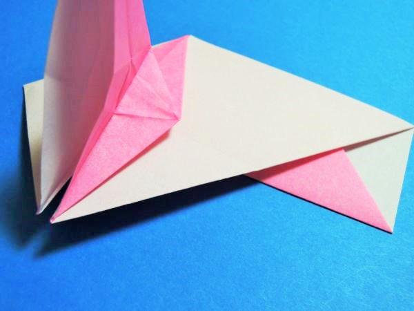 ハート 折り紙 折り紙 箸袋 鶴 : xn--o9ja9dn55ayerin411bcd3afbgz3gd4y.jp