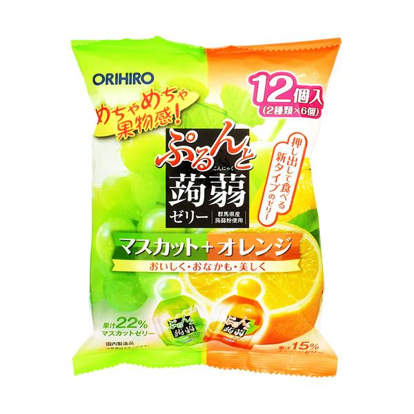 ORIHIRO 蒟蒻果凍 麝香葡萄 + 柳橙   驚安的殿堂唐吉訶德的激安官方國際購物網站