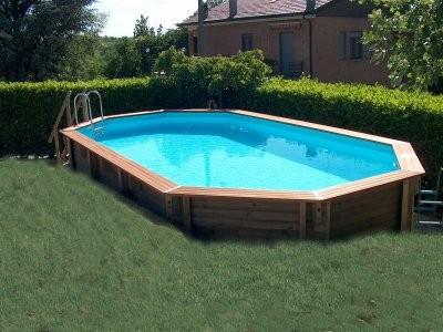 Idea piscina esterna per il giardino  Professionistionline