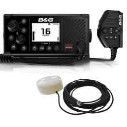 B&G V60 UKW Funkgerät mit integriertem AIS mit GPS-500 Antenne